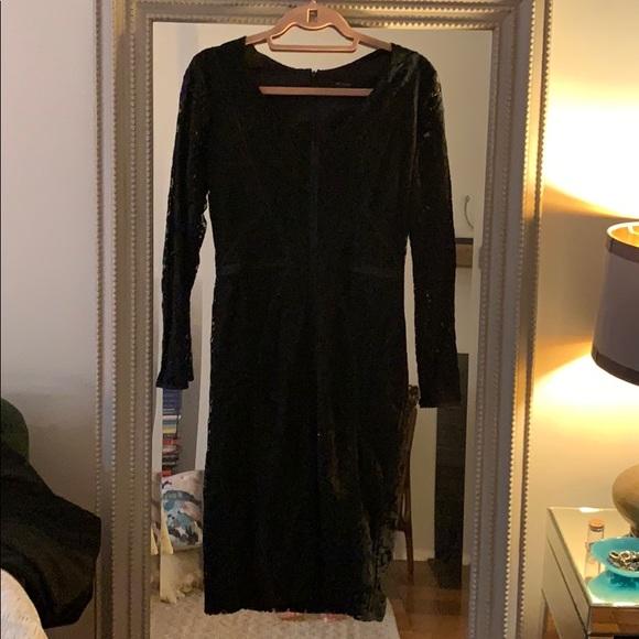 Ann Taylor Dresses & Skirts - Ann Taylor black lace dress.